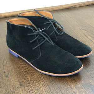 Dolce Vita Suede Lace Up Ankle Booties sz 7.5